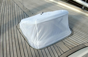 Blue Performance Hatch Cover Mosquito 9 Ø500