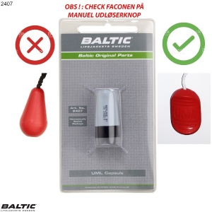 Capsule Pro Sensor Elite Grå/Sort BALTIC 2407