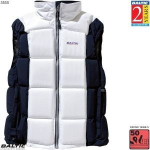 Surf & Turf Trend Dame flydevest-Hvid/Navy-Small-82-90 cm. bryst
