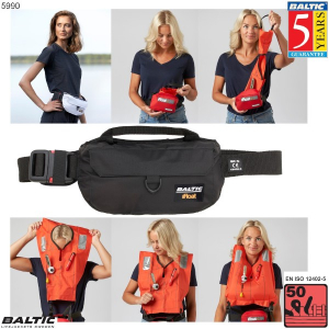iFloat 50N Softbag manuel Sort BALTIC 5990
